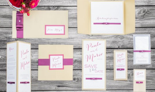 Hochzeitseinladungen & Co - Hochzeit