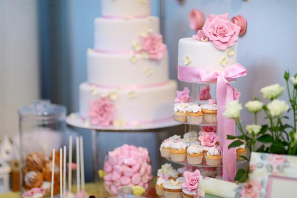 Hochzeitstrend Candy Bar Cupcakes