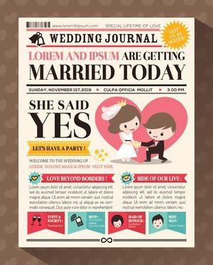 Hochzeitszeitung Erfolgreich Gestalten